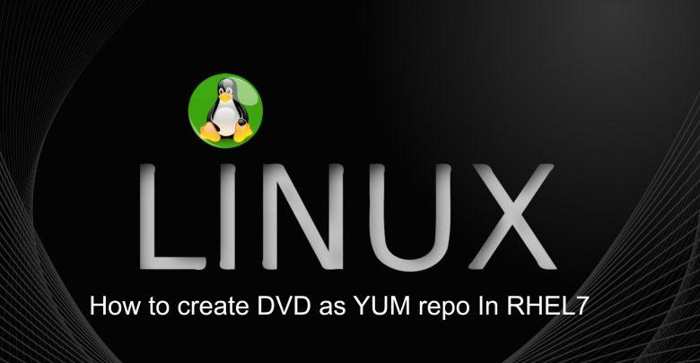 استفاده از DVD به عنوان Local Repository