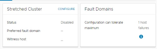 fault domain and stretched