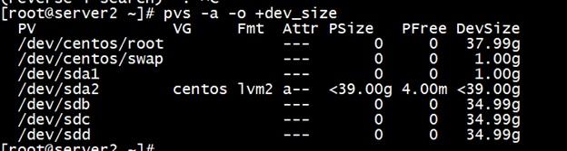 pvs dev_size server2